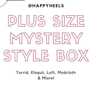 Plus Size Mystery Style Boxes Torrid Eloquii